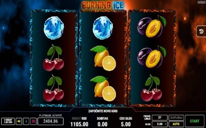 Burning Ice, Online Casino Bonus, Fazi