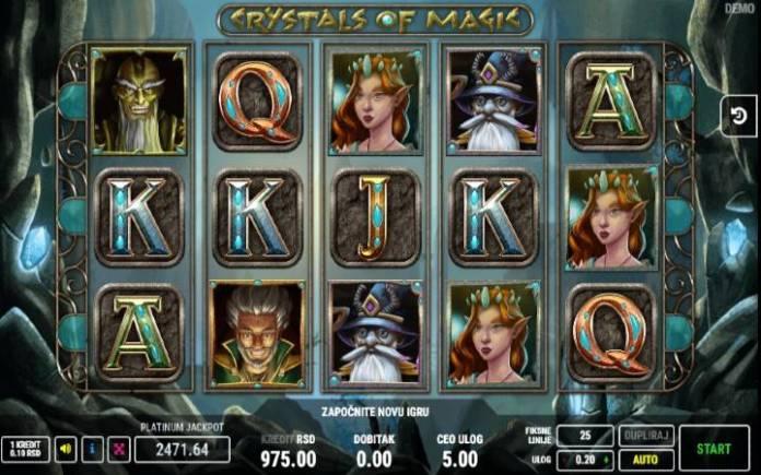 Online Casino Bonus, Crystals of Magic, Fazi