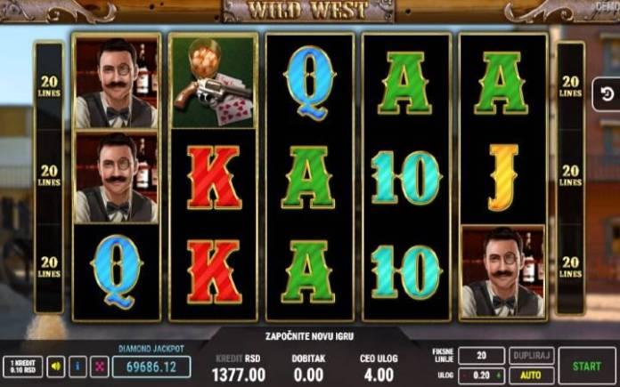 Wild West, Fazi, Online Casino Bonus