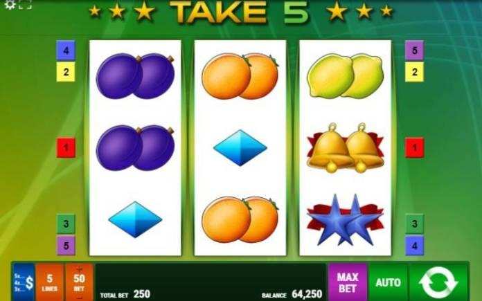 Take 5, Gamomat, Online Casino Bonus