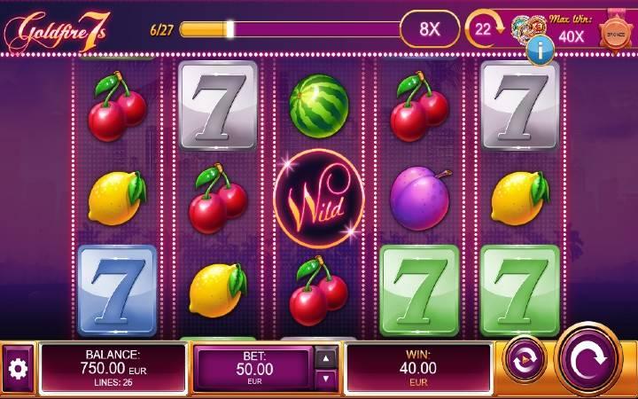 Goldfire 7s, Kalamba Games, Online Casino Bonus