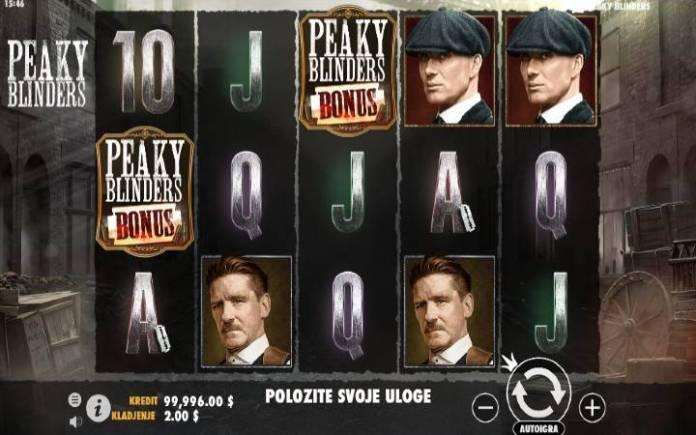 Peaky Blinders, Pragmatic Play, Online Casino Bonus