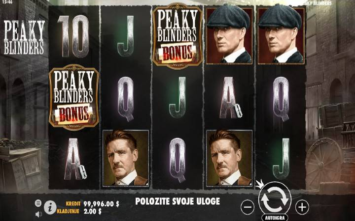 Peaky Blinders, Pragmatic Play, Online Casino Bonus