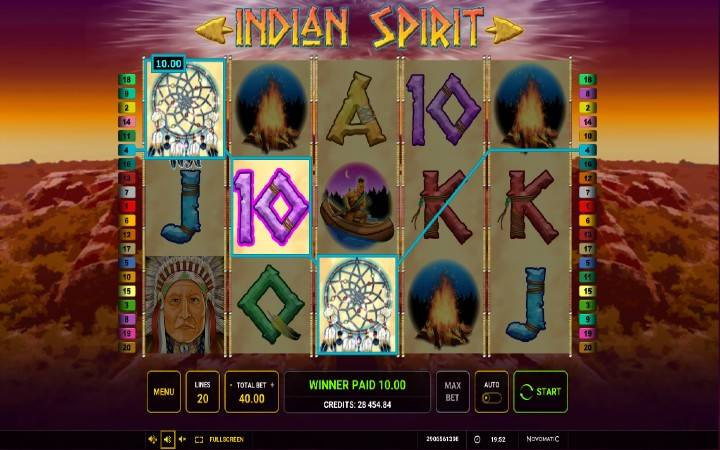 Online Casino Bonus, džokeri, Indian Spirit