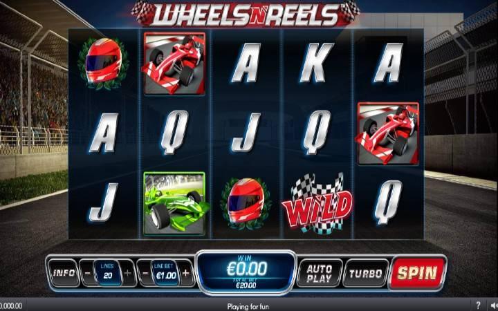Wheels n Reels, online casino bonus
