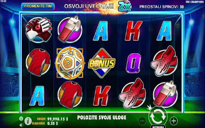 Online casino bonus, igra progresivnog impulsa