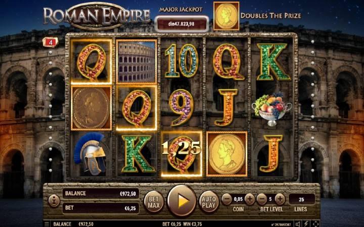 Džoker, Online Casino Bonus, Roman Empire