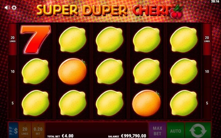 Super Duper Cherry, Online Casino Bonus, Bonus funkcija