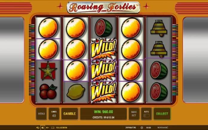 Džoker, Online Casino Bonus, Roaring Forties