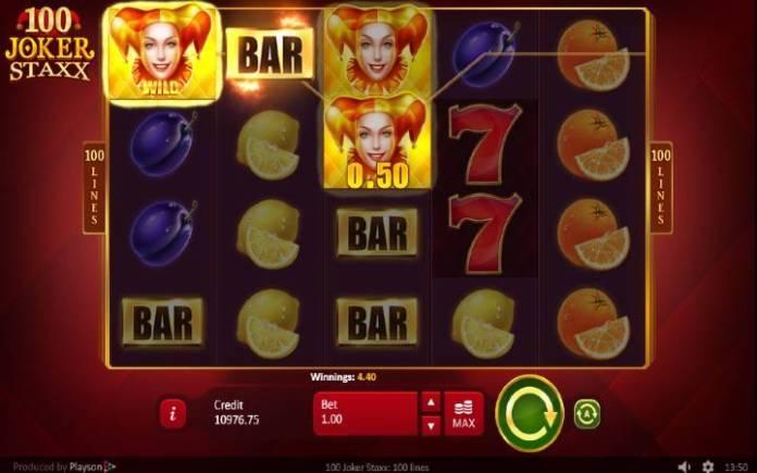 Online Casino Bonus, 100 Joker Staxx
