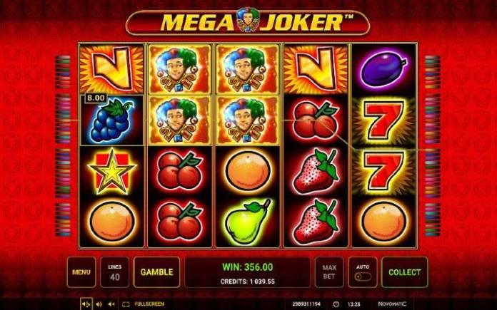 Džoker, Online Casino Bonus, Mega Joker