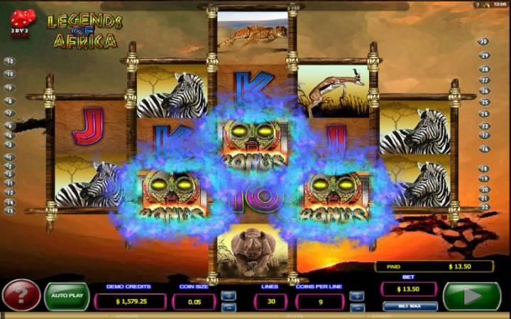 Besplatni spinovi, online casino bonus, Legends of Africa