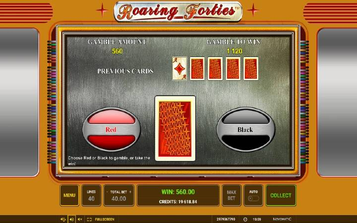 Kockanje, Roaring Forties, Online Casino Bonus