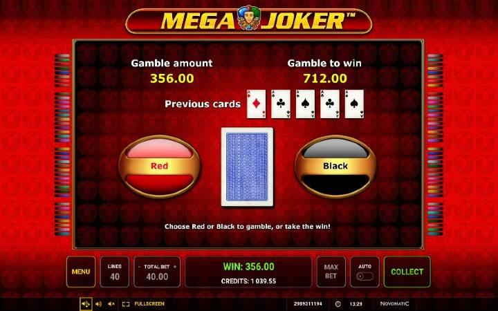 Kockanje, Mega Joker, Online Casino Bonus