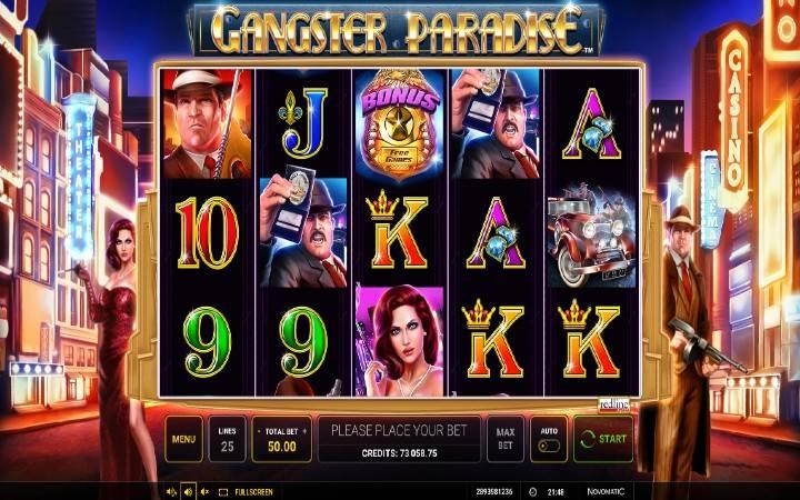 Gangster Paradise, Online Casino Bonus