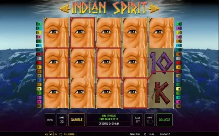 Besplatni spinovi, Online Casino Bonus, Indian Spirit