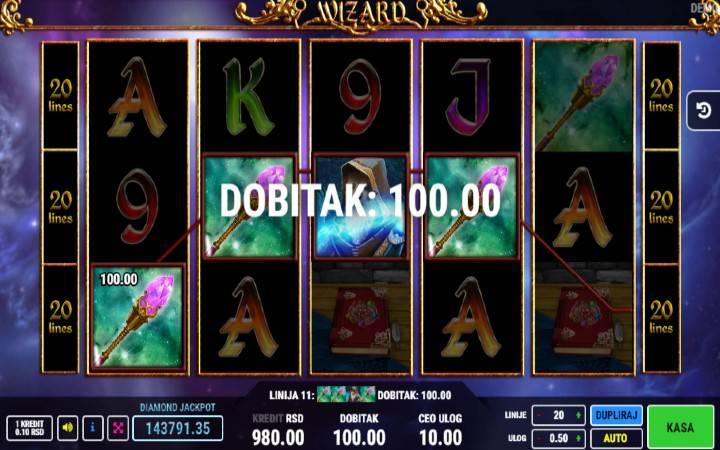 Online Casino Bonus, džokeri, Wizard