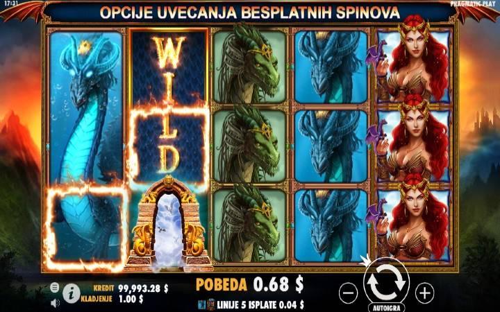 Online Casino Bonus, Džoker, Dragon Kingdom