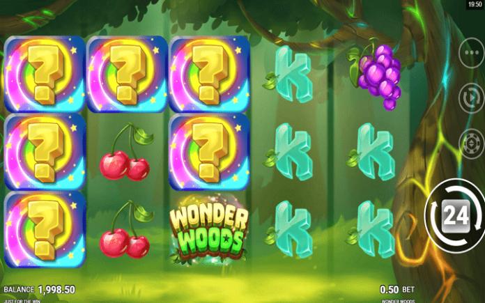 Wonder Woods slot-tabla slota-misteriozni simboli u kolonama