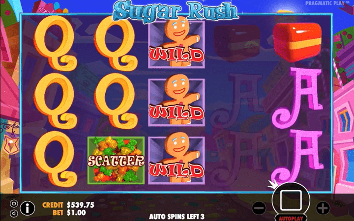 Sugar Rush, Pragmatic Play, Online Casino Bonus