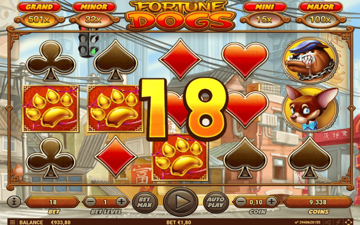 Fortune Dogs, Habanero, Online Casino Bonus