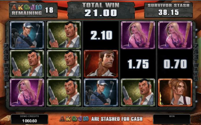 Lost Vegas slot-bonus igra - Survivors