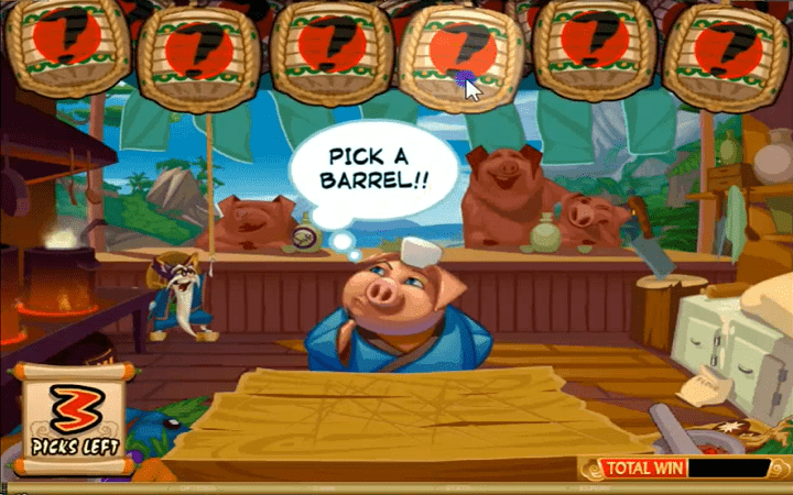 Karate Pig, Microgaming, Online Casino Bonus