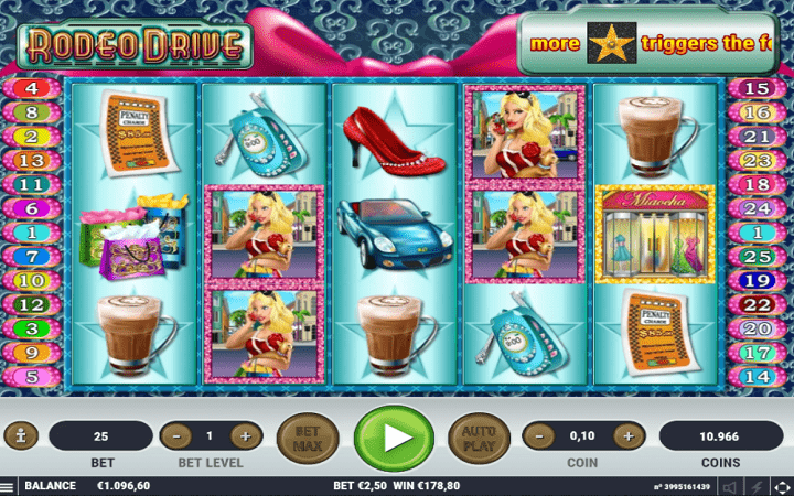 Rodeo Drive, Habanero, Online Casino Bonus