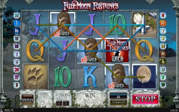 Džoker Multiplikator, Online Casino Bonus, Full Moon Fortunes