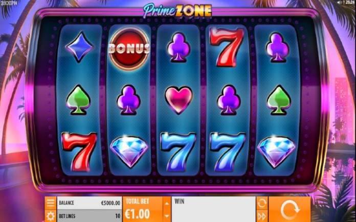 Prime Zone, Quickspin, Playtech, Online Casino Bonus