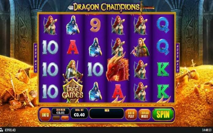 Dragon Champions, Playtech, Online Casino BOnus