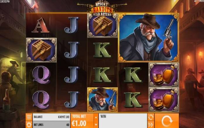 Sticky Bandits: Wild Return, Online Casino Bonus