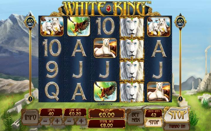 White King, Playtech, Online Casino Bonus