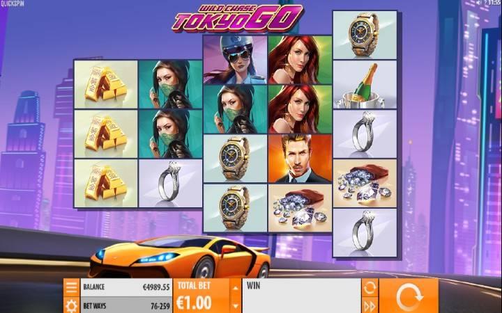 Wild Chase: Tokyo Go, Quickspin, Online Casino Bonus