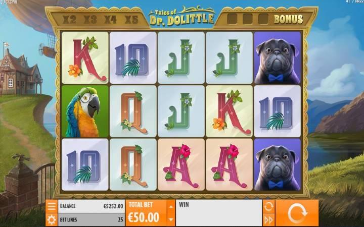 Tales of Dr Dolittle, Quickspin, Online Casino Bonus