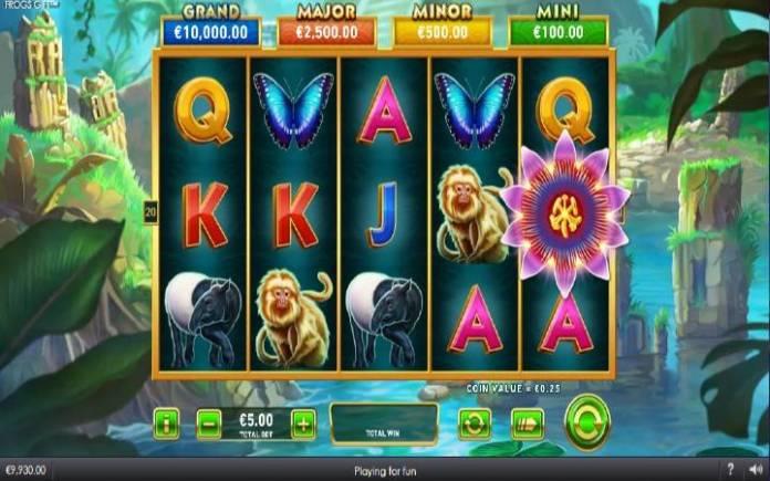 Frogr Gift, Online Casino Bonus, Playtech