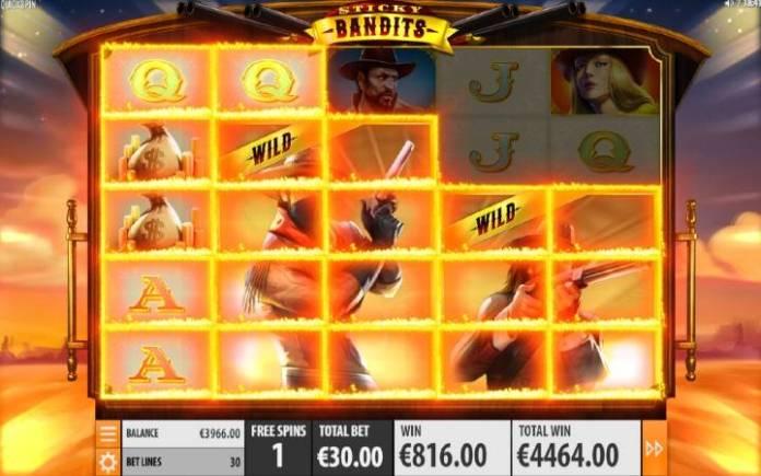 Besplatni Spinovi, Sticky Bandits, Online Casino Bonus