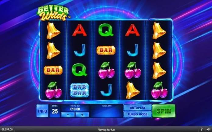 Better Wilds, Online Casino Bonus, Playtech