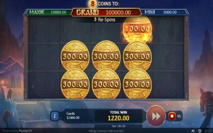 Bonus Funkcija, Online Casino Bonus, Vikings Fortune: Hold and Win