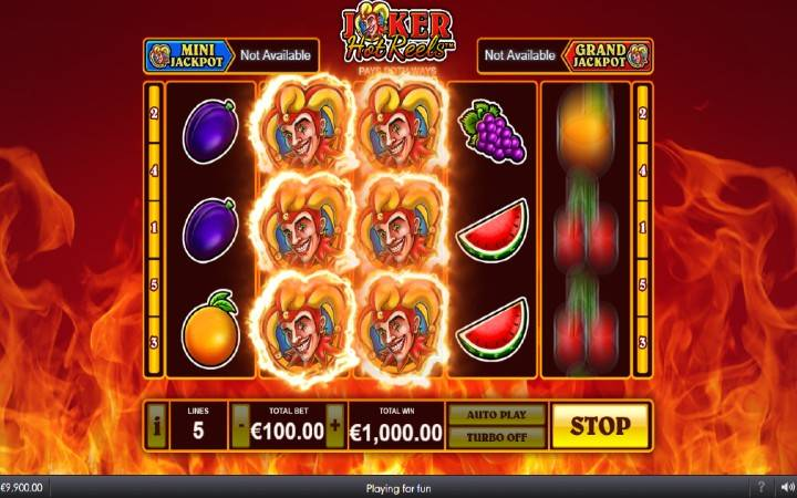 Joker's Respins, Online Casino Bonus, Joker Hot Reels