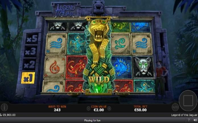 Jaguar Respins, Online Casino Bonus, Legend of the Jaguar