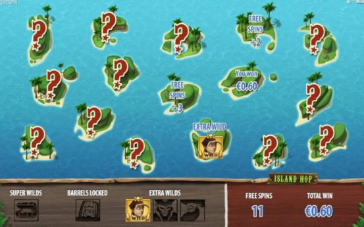Online Casino Bonus, Treasure Island, Besplatni Spinovi