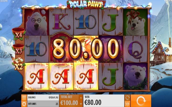 Džokeri, Polar Paws, Playtech, Online Casino Bonus