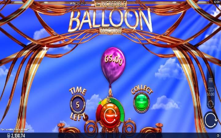 The Incredible Balloon Machine, Online Casino Bonus, Microgaming
