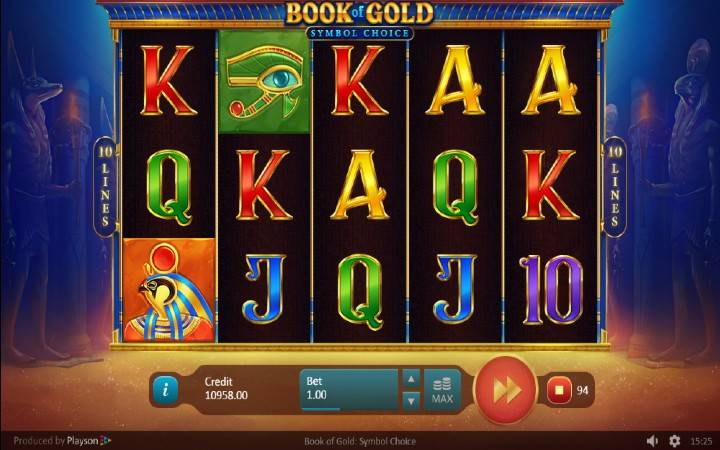 Book of Gold: Symbol Choice, Online Casino Bonus, Playson