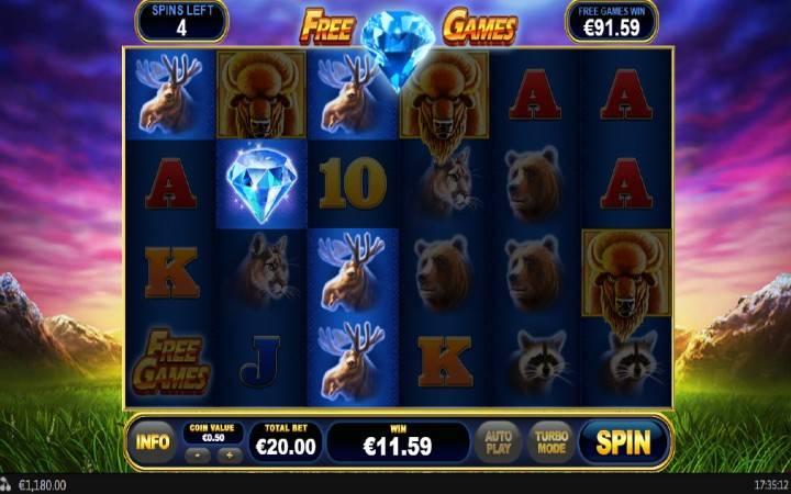 Džoker, Online Casino Bonus, Buffalo Blitz