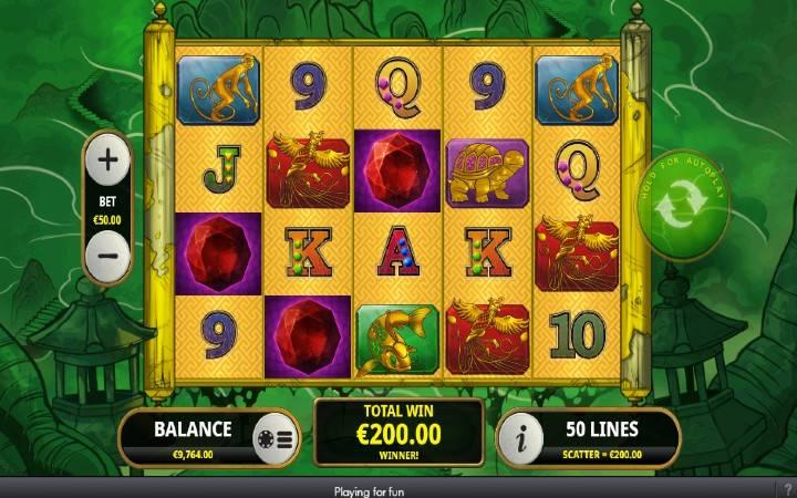 Besplatni Spinovi, Ride the Tiger, Online Casino Bonus, Playtech