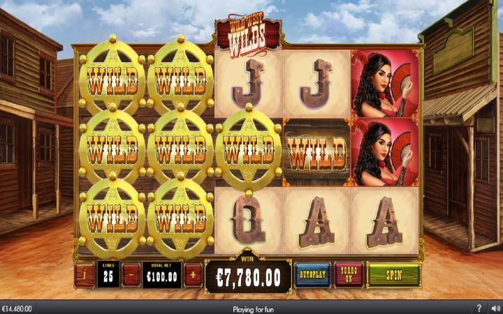 Lepljivi džokeri, Online Casino Bonus, Wild West Wilds