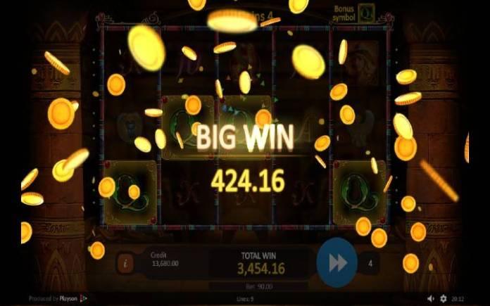 Online Casino Bonus, Treasures of Tombs Hidden Gold, Besplatni Spinovi