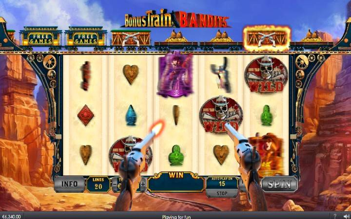 Revolver Wilds, Online Casino Bonus, Playtech